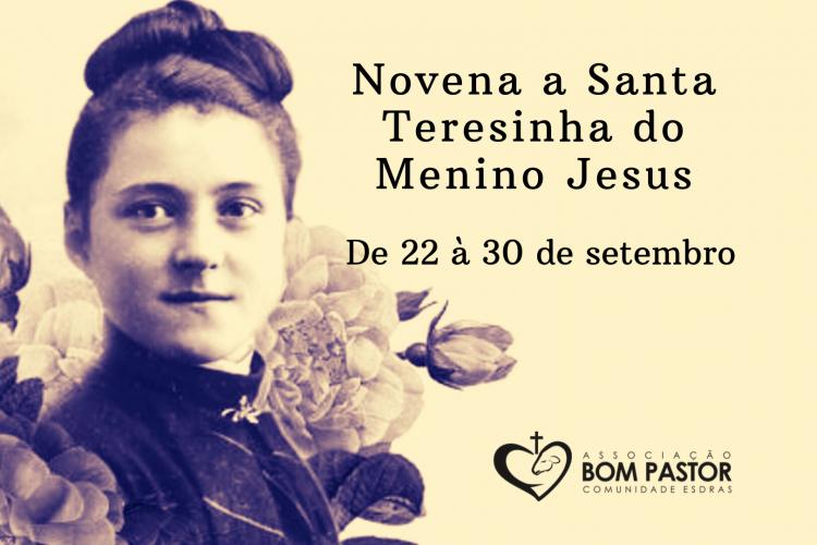 Reze conosco a Novena a Santa Teresinha do Menino Jesus