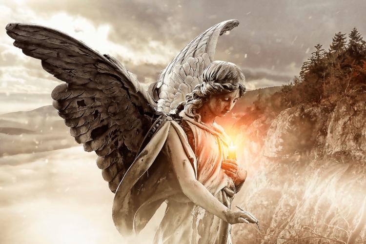 Posso dar um nome ao meu anjo da guarda?
