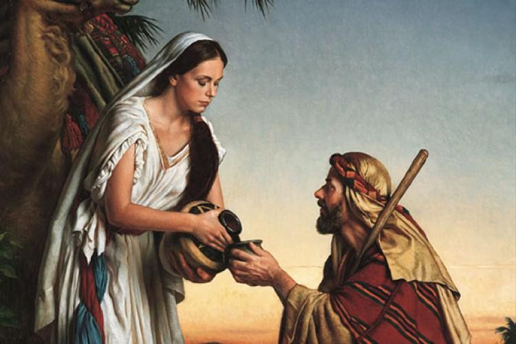 A Samaritana e o doce olhar de Jesus