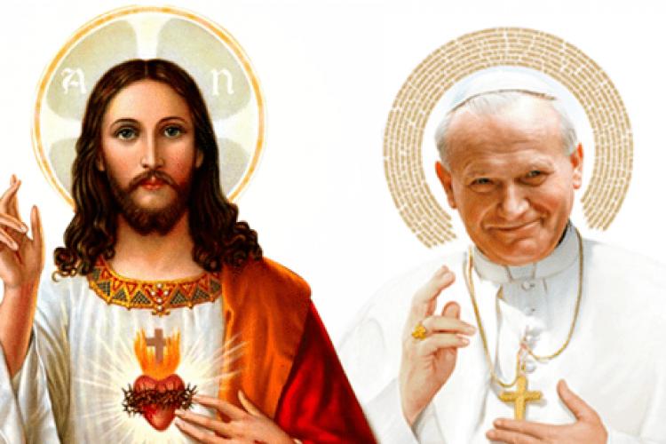 4 pensamentos de São João Paulo II sobre o Coração de Jesus
