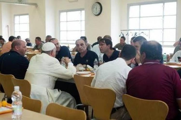 Almoço com o Papa