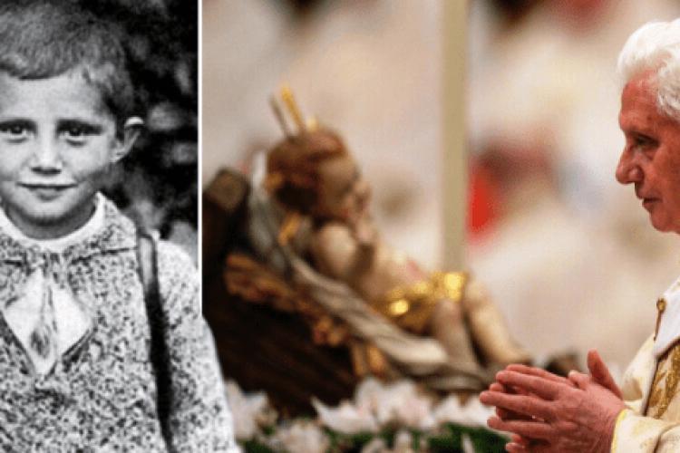 A carta ao Menino Jesus escrita pelo Papa Bento XVI quando tinha 7 anos de idade