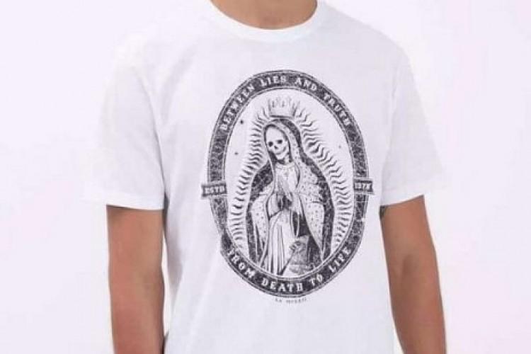 Após pressão católica, rede Renner recolhe camisetas ofensivas a Nossa Senhora
