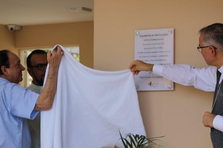 Dom Justino abençoa e inaugura Centro Administrativo Arquidiocesano
