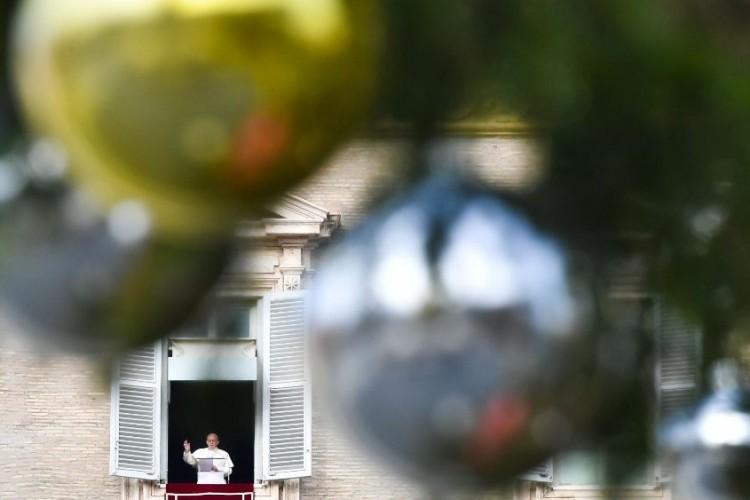 """Papa: vivamos um Natal """"extrovertido"""", colocando Jesus no centro"""