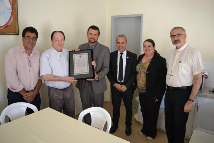 Arcebispo emérito recebe homenagem dos vereadores de Montes Claros