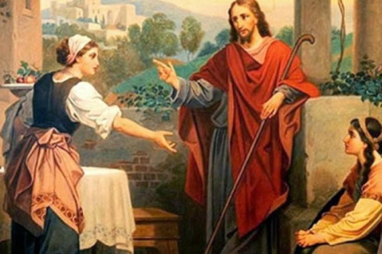 Santa Marta de Betânia e a lição de Jesus sobre a melhor parte