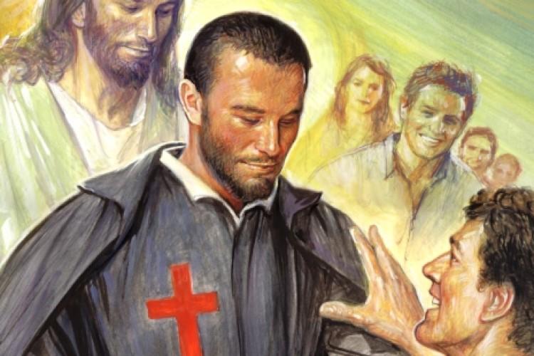 De bêbado e viciado a santo padroeiro dos doentes e dos hospitais