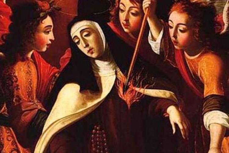 """Uma """"flecha divina"""" marcou o coração de Santa Teresa D'Ávila e sua autópsia confirmou"""